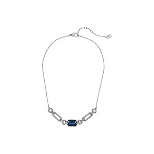 16 Stone Frontal Pendant Necklace