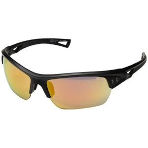 Under Armour UA Octane Satin Black/Black Frame/Orange Baseball Tuned Lens
