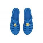 GG Jelly Sandal (Little Kid)
