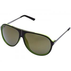KC1239 Dark Brown/Other/Green Mirror