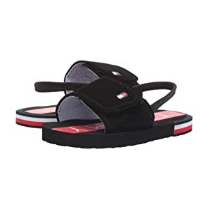Niko Slide (Toddler) Black/Red