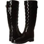 Refined Gloss Quilt Tall Rain Boots