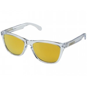 Frogskins (Asia Fit) Crystal Clear/24K Iridium