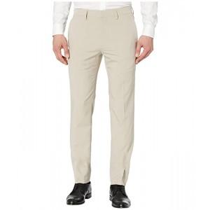 Technicole Stretch Plain Weave Slim Fit Flat Front Flex Waistband Dress Pants