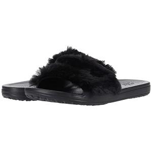 Sloane Luxe Slide Black/Black