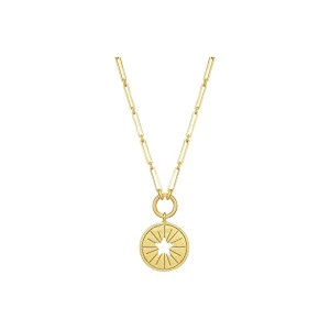 Star Coin Pendant Necklace