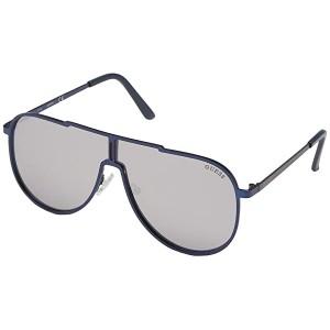 GUESS GF0199 Matte Blue/Smoke Mirror