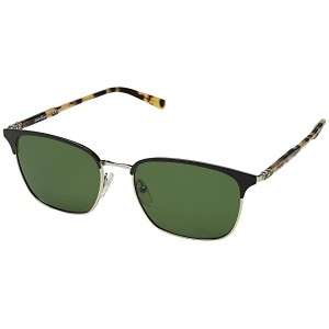 Salvatore Ferragamo SF180SM Black/Shiny Gold/Solid Green