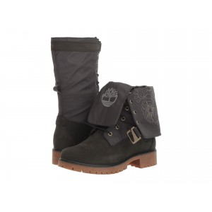 Jayne Waterproof Gaiter Boot Dark Green Nubuck/Dark Green