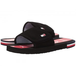 Niko Slide (Little Kid/Big Kid) Black/Red