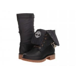 Jayne Waterproof Gaiter Boot Black Full Grain/Black
