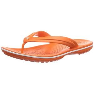 Crocband Flip Flop Orange/White