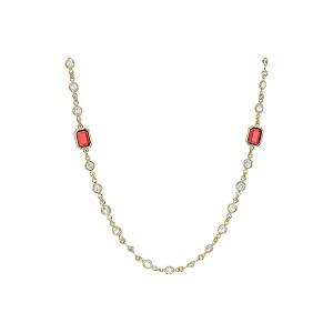 42 Stone Strandage Necklace