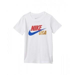 Nike Kids Short Sleeve Americana Graphic T-Shirt (Toddler) White