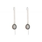 Lollipop Chain Pierced Earrings