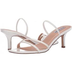 Steve Madden Loft Heeled Sandal White Patent