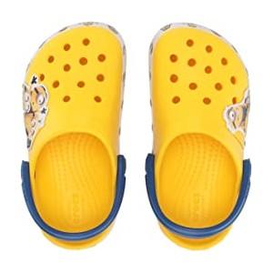 CrocsFunLab Minions Multi Clog (Toddler/Little Kid) Yellow