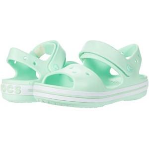 Crocs Kids Crocband Sandal (Toddleru002FLittle Kid) Neo Mint