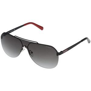 GUESS GF5053 Shiny Black/Gradient Smoke
