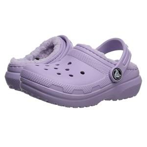 Classic Lined Clog (Toddler/Little Kid) Lavender/Lavender