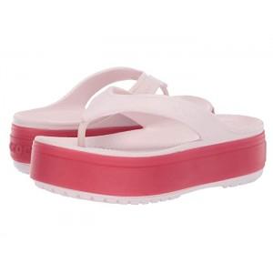 Crocband Platform Flip Barely Pink/Pepper