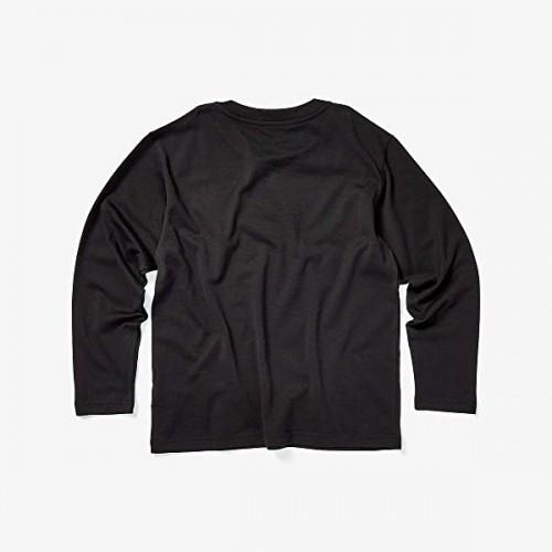돌체앤가바나 Dolce & Gabbana Kids Long Sleeve Logo T-Shirt (Big Kids) Nero