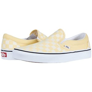 Classic Slip-On Checkerboard Golden Haze/True White