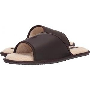 Polo Ralph Lauren Antero Slipper Brown Leather