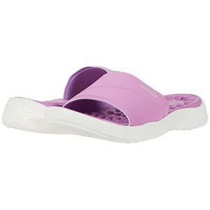 Reviva Slide Violet/White