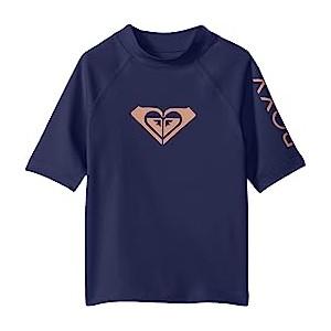 Whole Hearted Short Sleeve Rashguard (Big Kids)