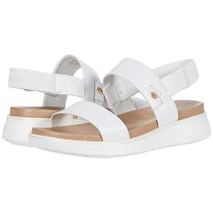 Cole Haan Zerogrand Global Double Band Sandal Optic White Leather/Amphora/Optic White