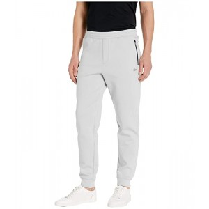 Lacoste Solid Pant Silicon Croc Silicone Lacoste Badge at Bottoms Leg Motion Light Grey