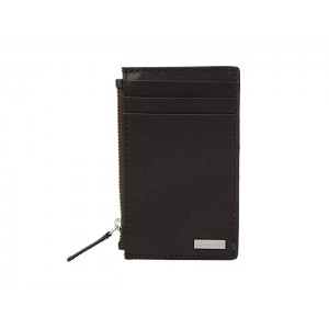 Zip Card Case Dark Chocolate