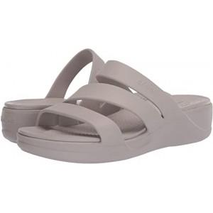 Crocs Monterey Wedge Platinum