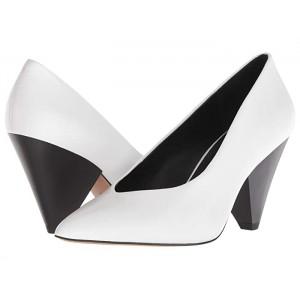 Zuria Optic White Leather