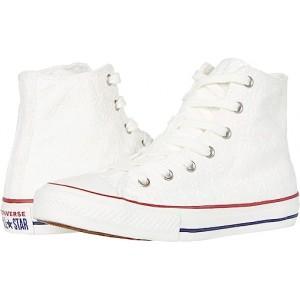 Converse Kids Chuck Taylor All Star (Little Kidu002FBig Kid) White/Garnet/Midnight Navy 1