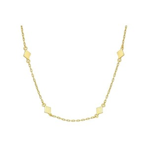 Diamond Shape Delicate Necklace