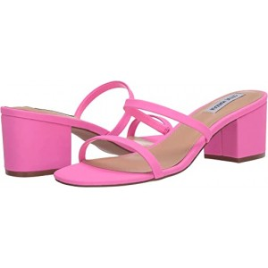 Steve Madden Issy Heeled Sandal Pink Neon