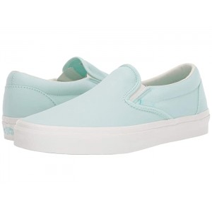 Classic Slip-On (Brushed Twill) Soothing Sea/Snow White