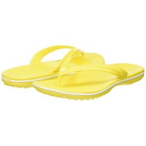 Crocband Flip Flop Lemon/White