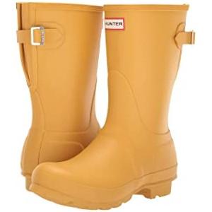 Original Short Back Adjustable Rain Boots Fennel Seed