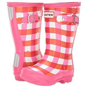 Original Kids Rain Boot (Toddler/Little Kid) Arcade Pink Gingham