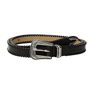 18 mm Cowboy Belt with Whipstitch