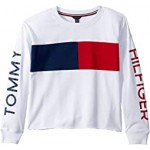 Hilfiger Crew French Terry Sweatshirt (Big Kids)
