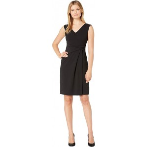Luxe Tech Crepe Astah Sleeveless Day Dress