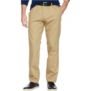 Athletic Fit Signature Khaki Lux Cotton Stretch Pants - Creaseless