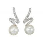 Gabriella Pearl Pierced Earrings