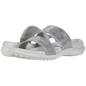 Capri Dual Strap Sandal Pearl White