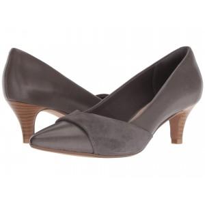 Linvale Vena Grey Leather/Nubuck Combi