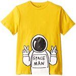 Spaceman Short Sleeve T-Shirt (Toddler/Little Kids/Big Kids)
